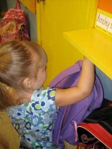 Ainsley's First Day of Preschool 2009 - 2