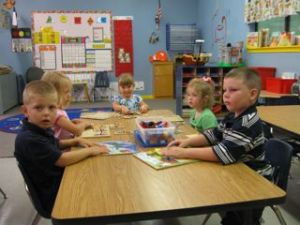 Ainsley's First Day of Preschool 2009 - 5